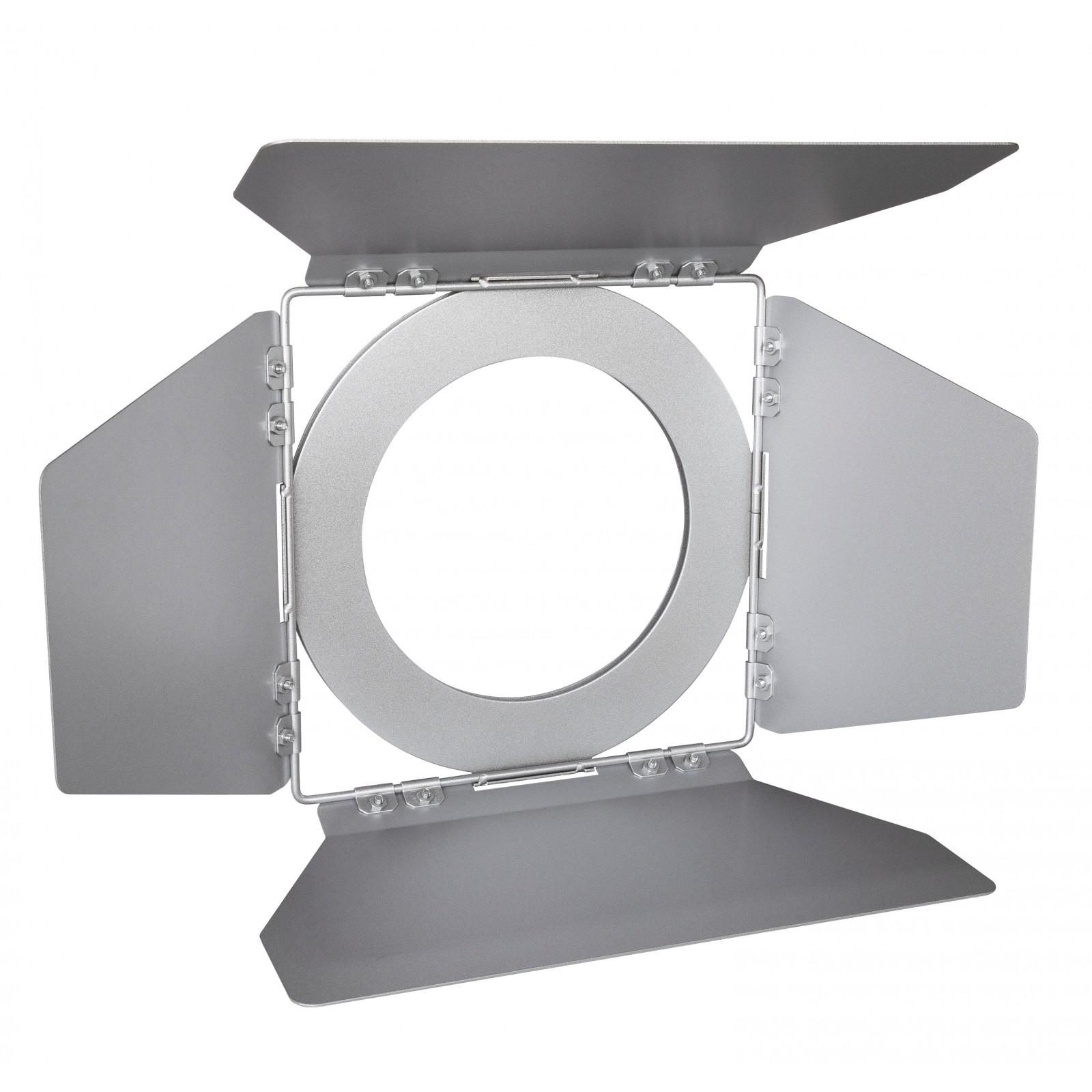 Cob Barndoor Silver Sound Light Pro